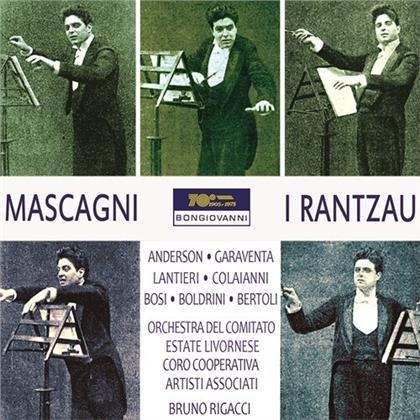 Pietro Mascagni (1863-1945), Bruno Rigacci, Anderson, Garaventa, Lantieri, … - I Rantzau