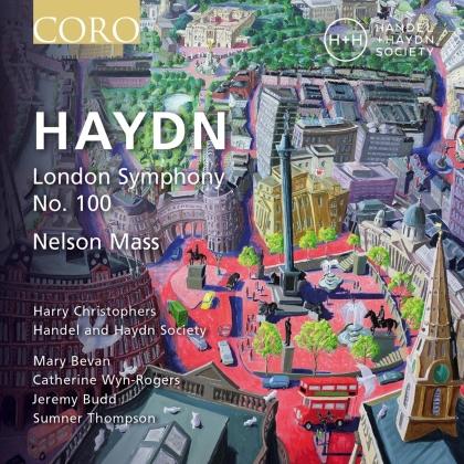 Mary Bevan, Catherine Wyn-Rogers, Jeremy Budd, Sumner Thompson, Joseph Haydn (1732-1809), … - London Symphony No. 100, Nelson Mass