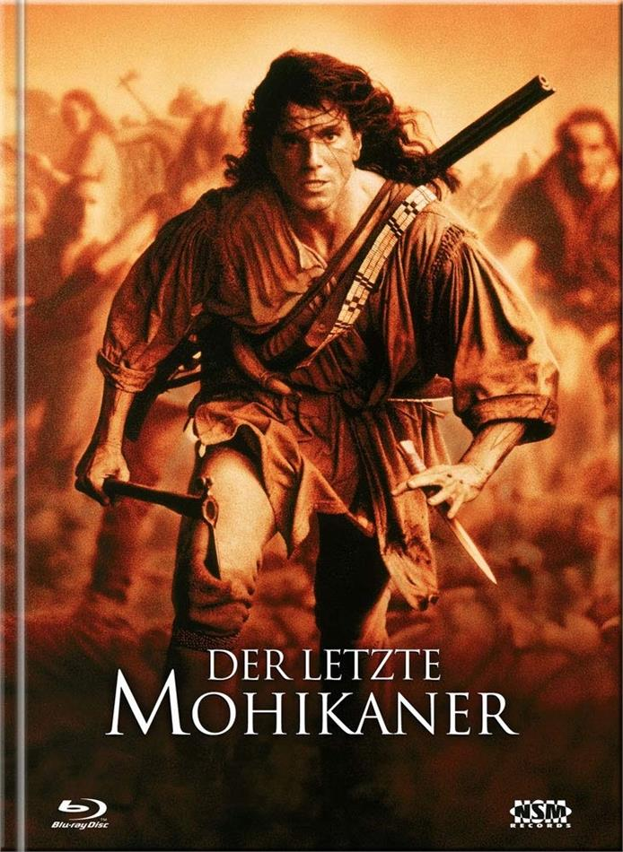Der letzte Mohikaner (1992) (Cover A, Limited Ultimate Edition, Mediabook, Uncut, 3 Blu-rays + DVD)