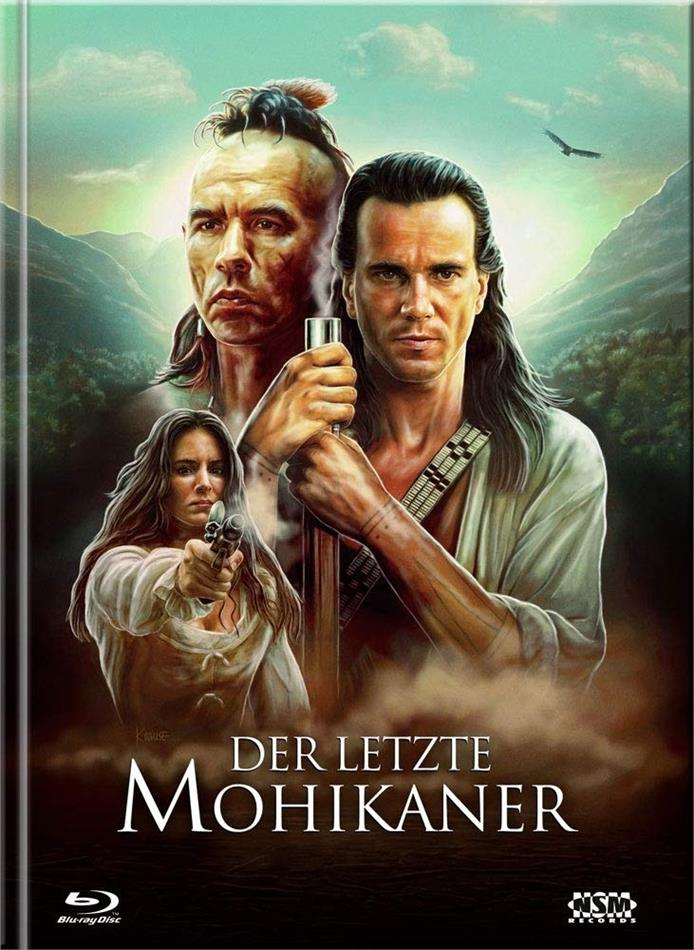 Der letzte Mohikaner (1992) (Cover B, Limited Ultimate Edition, Mediabook, Uncut, 3 Blu-rays + DVD)