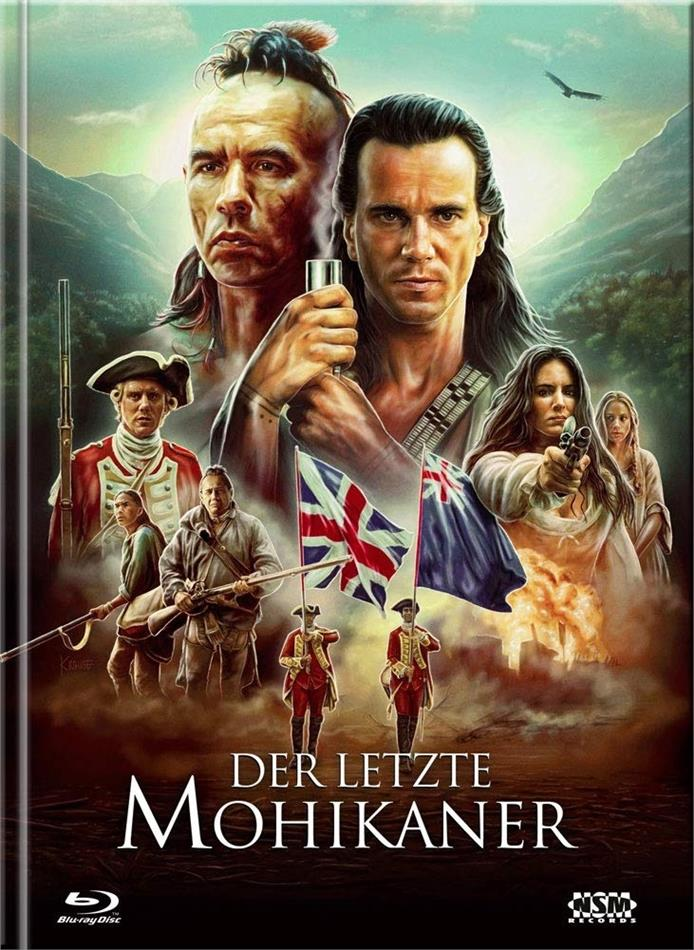 Der letzte Mohikaner (1992) (Cover C, Limited Ultimate Edition, Mediabook, Uncut, 3 Blu-rays + DVD)