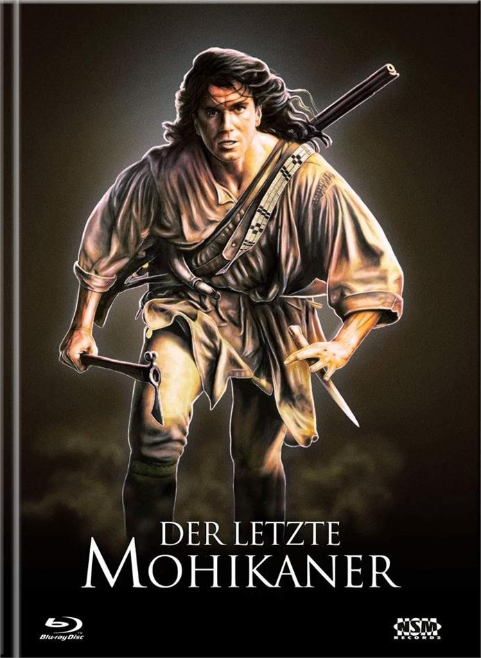 Der letzte Mohikaner (1992) (Cover D, Limited Ultimate Edition, Mediabook, Uncut, 3 Blu-rays + DVD)