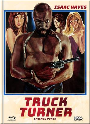 Truck Turner (1974) (Cover D, Limited Edition, Mediabook, Blu-ray + DVD)