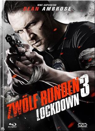 Zwölf Runden 3: Lockdown (2015) (Cover B, Limited Edition, Mediabook, Blu-ray + DVD)