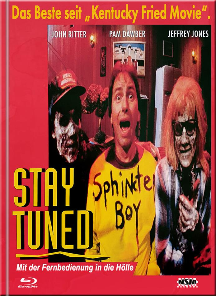 Stay Tuned - Mit der Fernbedienung in die Hölle (1992) (Cover A, Limited Edition, Mediabook, Blu-ray + DVD)