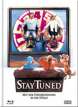 Stay Tuned - Mit der Fernbedienung in die Hölle (1992) (Cover B, Limited Edition, Mediabook, Blu-ray + DVD)