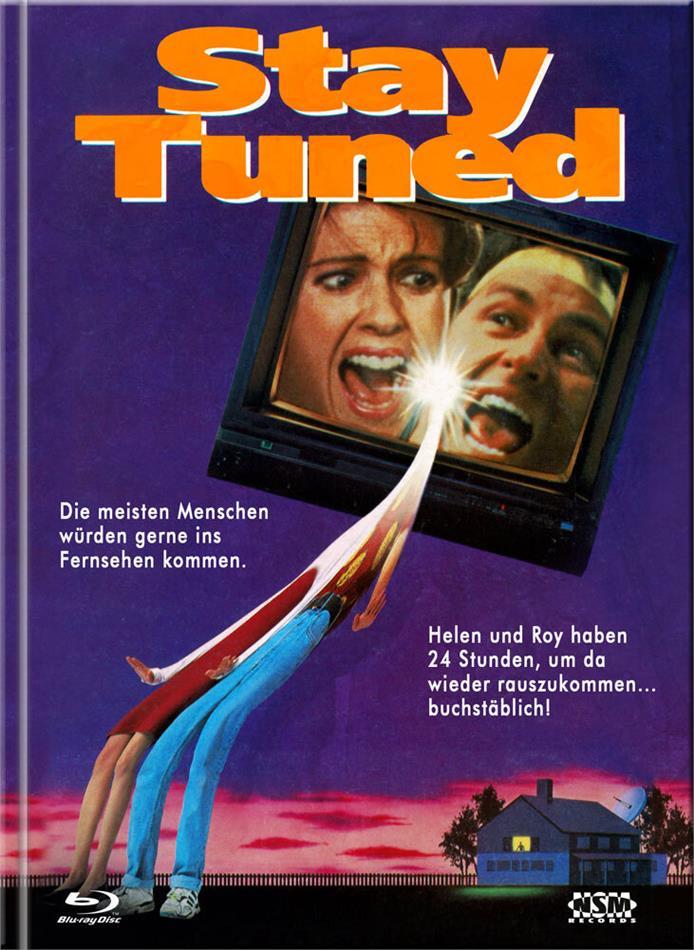 Stay Tuned - Mit der Fernbedienung in die Hölle (1992) (Cover D, Limited Edition, Mediabook, Blu-ray + DVD)