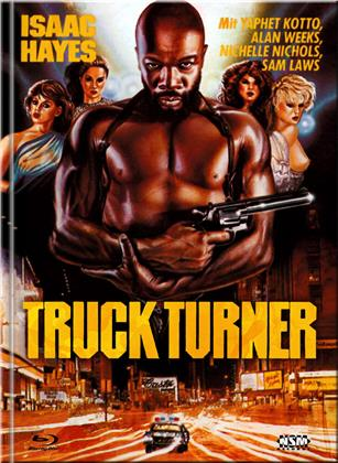 Truck Turner (1974) (Cover A, Limited Edition, Mediabook, Blu-ray + DVD)