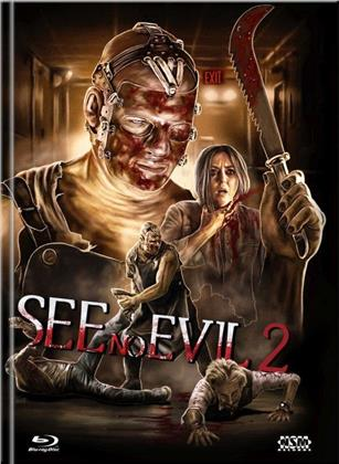 See No Evil 2 (2014) (Cover C, Limited Edition, Mediabook, Uncut, Blu-ray + DVD)