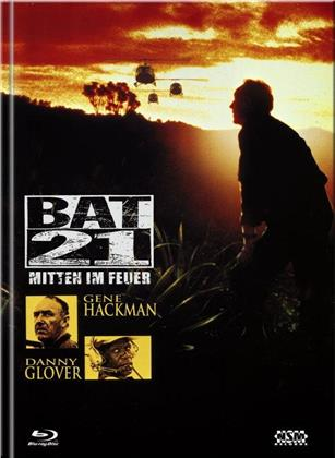 Bat 21 - Mitten im Feuer (1988) (Cover B, Limited Edition, Mediabook, Blu-ray + DVD)