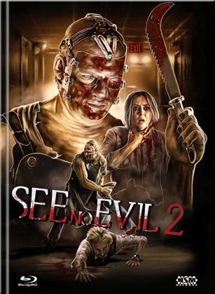See No Evil 2 (2014) (Cover D, Limited Edition, Mediabook, Uncut, Blu-ray + DVD)