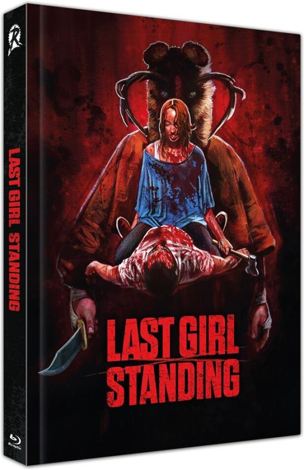Last Girl Standing (2015) (Cover B, Limited Edition, Mediabook, Uncut, Blu-ray + DVD)
