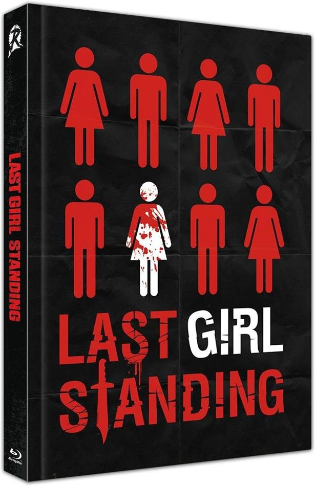 Last Girl Standing (2015) (Cover C, Limited Edition, Mediabook, Uncut, Blu-ray + DVD)