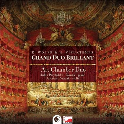 Art Chamber Duo, Edward Wolff & Henri Vieuxtemps (1820-1881) - Grand Duo Brillant