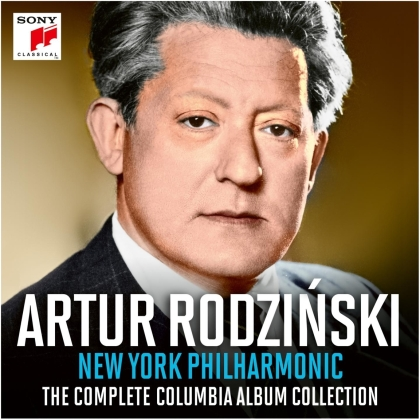 New York Philharmonic & Artur Rodzinski - Complete Columbia Album Collection (16 CDs)