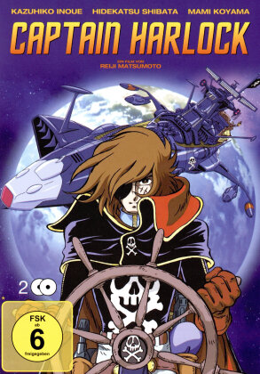 Captain Harlock (1978) (Limited Edition, 2 DVDs)