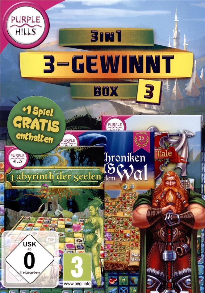 3 in 1 3-Gewinnt Box 3