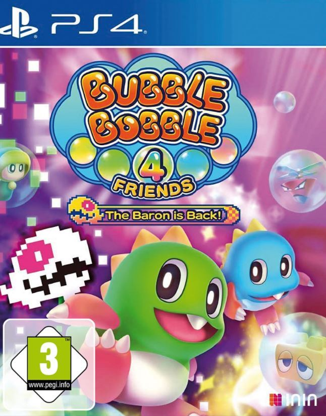 Bubble Bobble 4 Friends - The Baron is Back !