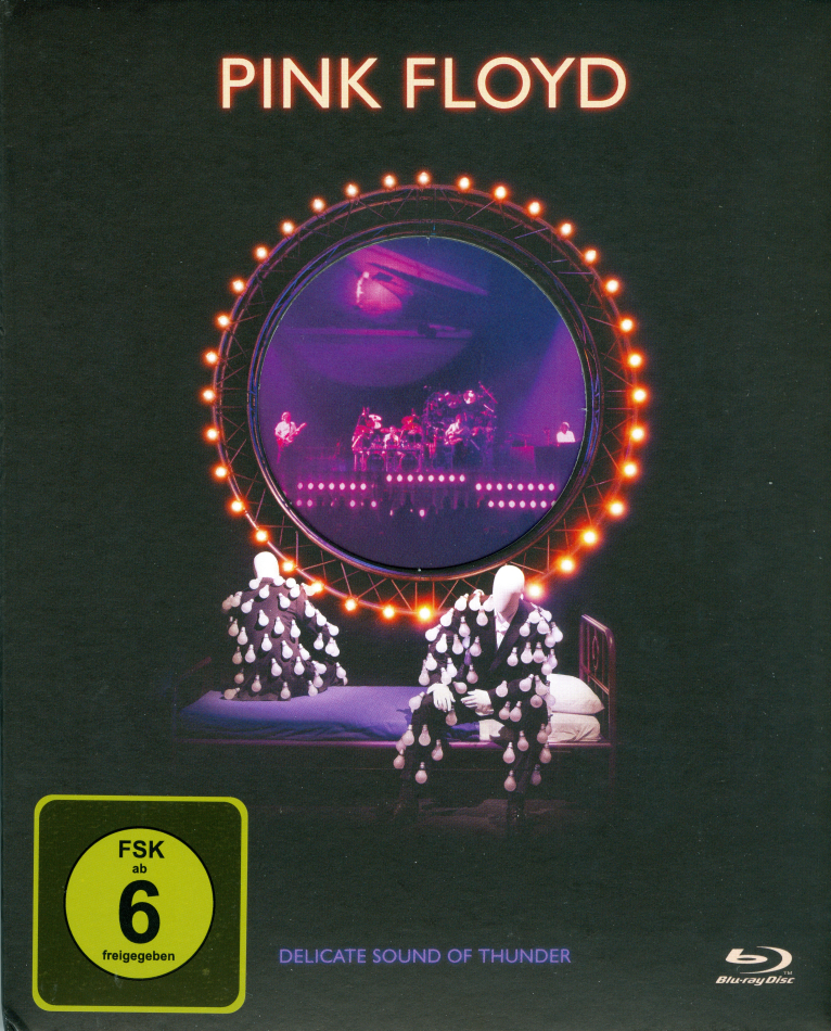 Pink Floyd - Delicate Sound of Thunder - Live - Restored, Re-edited, Remixed (Schuber, Digibook)