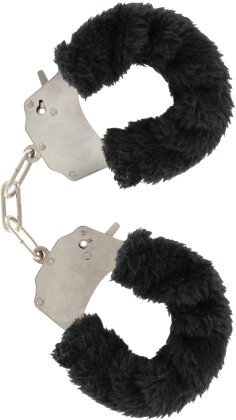 Furry Fun Cuffs - Black