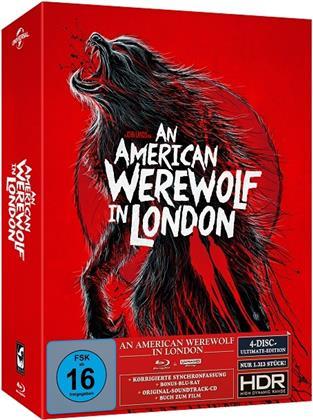 An American Werewolf in London (1981) (Cover B, Limited Ultimate Edition, Mediabook, 4K Ultra HD + 2 Blu-rays + CD)