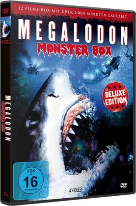 Megalodon Monster Box - 12 Filme (Deluxe Edition, 4 DVDs)