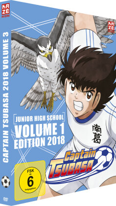 Captain Tsubasa - Vol. 3 (2018) (2 DVDs)