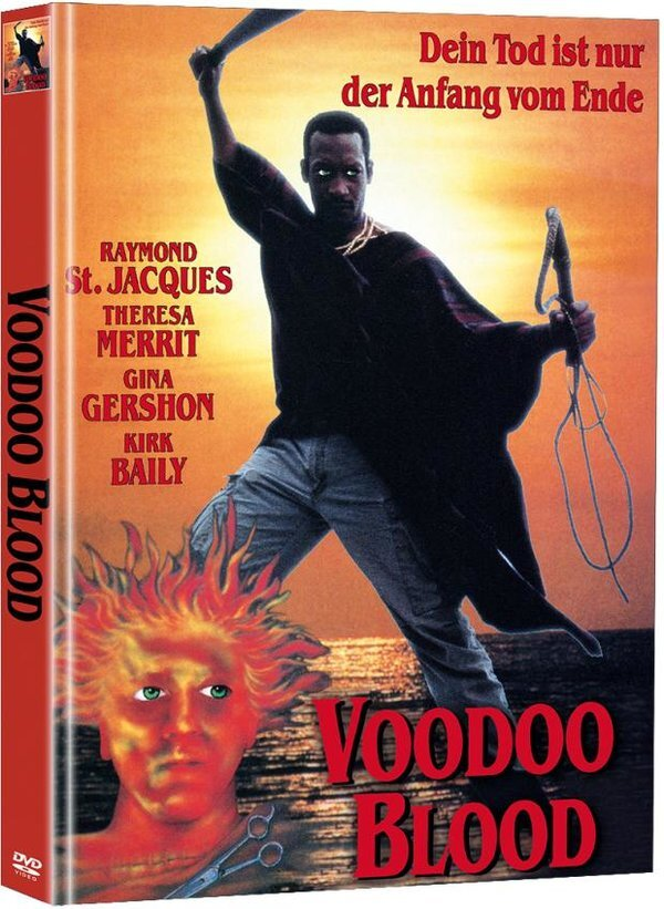 Voodoo Blood (1990) (Limited Edition, Mediabook, 2 DVDs)