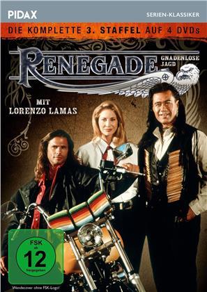 Renegade - Gnadenlose Jagd - Staffel 3 (Pidax Serien-Klassiker, 4 DVDs)