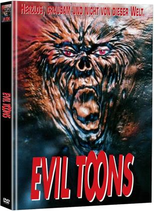 Evil Toons (1992) (Super Spooky Stories, Limited Edition, Mediabook, 2 DVDs)