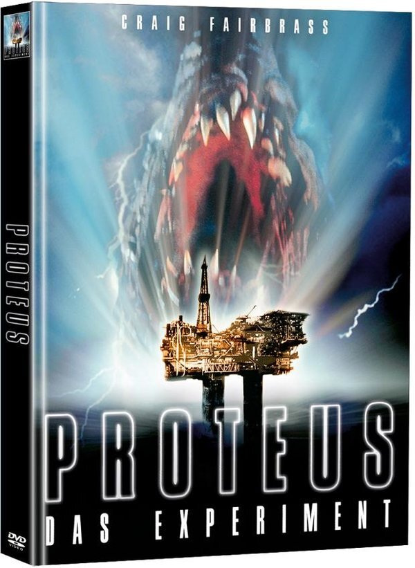 Proteus - Das Experiment (1995) (Limited Edition, Mediabook, 2 DVDs)