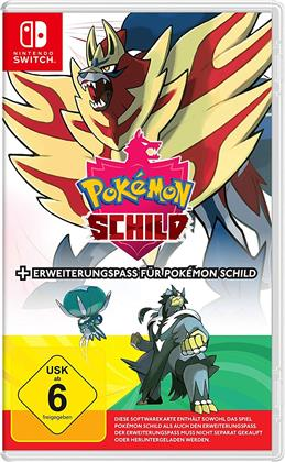 Pokemon Schild + Erweiterung (German Edition)