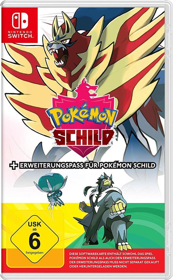 Pokemon Schild + Erweiterung (German Edition)