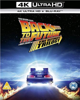 Back To The Future - The Ultimate Trilogy (3 4K Ultra HDs + 4 Blu-rays)