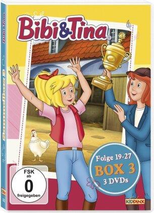 Bibi & Tina - Box 3 - Folge 19-27 (3 DVDs)