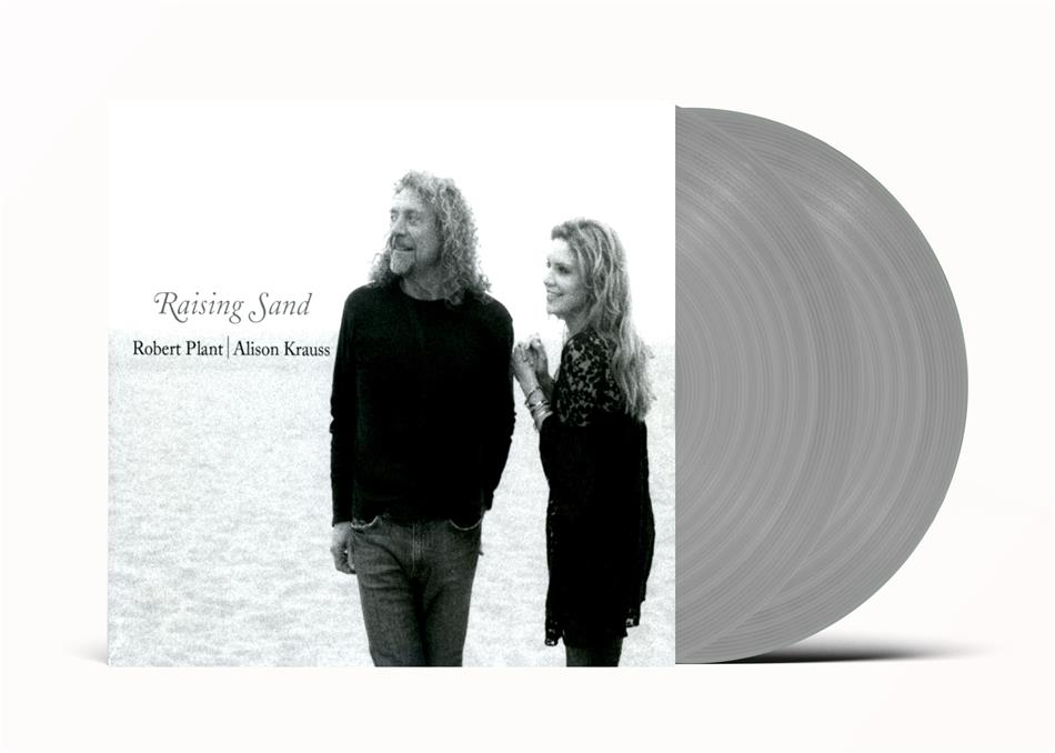 Robert Plant & Alison Krauss - Raising Sand (2020 Reissue, Universal, Grey Vinyl, 2 LPs)