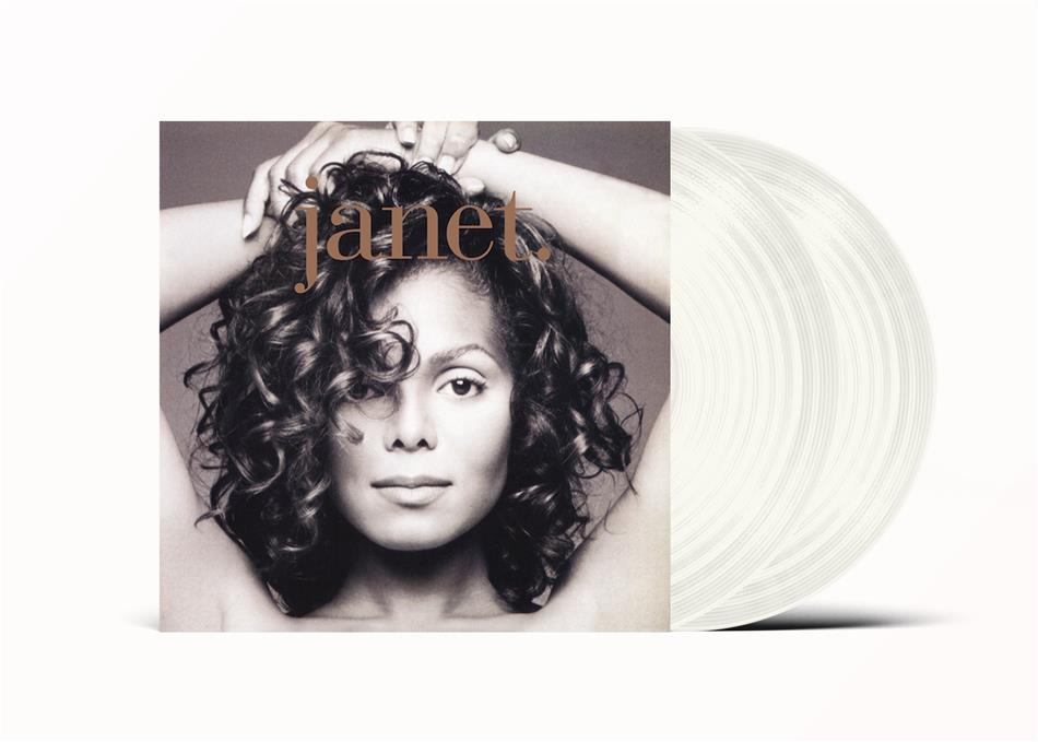 Janet Jackson - Janet (2020 Reissue, Universal, Limited Edition, Clear Vinyl, 2 LPs)