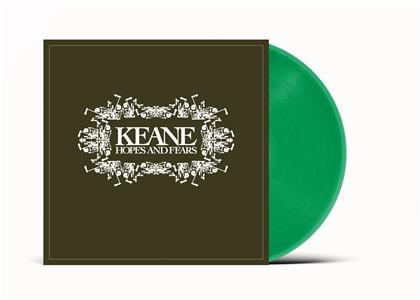 Keane - Hopes And Fears (2020 Reissue, Universal, Limited Edition, Green Vinyl, LP)