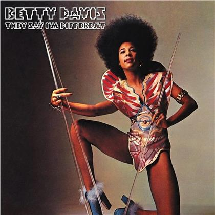Betty Davis - They Say I'm Different (2020 Reissue, Light In The Attic, LP)