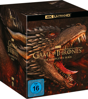 Game of Thrones - Die komplette Serie (33 4K Ultra HDs)
