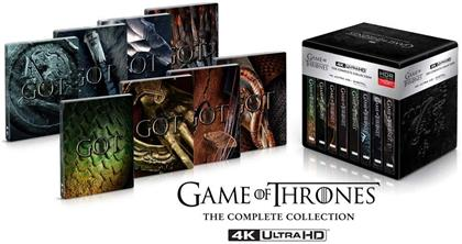 Game of Thrones - Die komplette Serie (Limited Edition, Steelbook, 33 4K Ultra HDs)