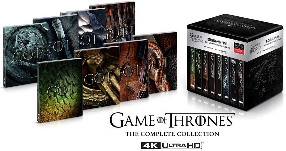 Game of Thrones - Die komplette Serie (Limited Edition, Steelbook, 33 4K Ultra HDs)
