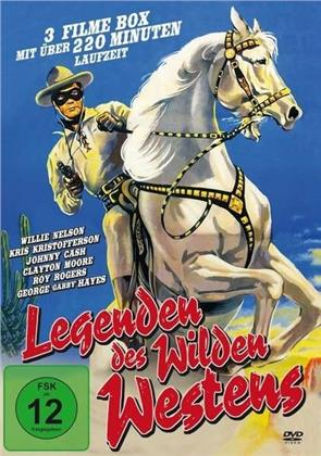 Legenden des Wilden Westens - Doc Holiday / Legend of the Lone Ranger / The Days of Jesse James