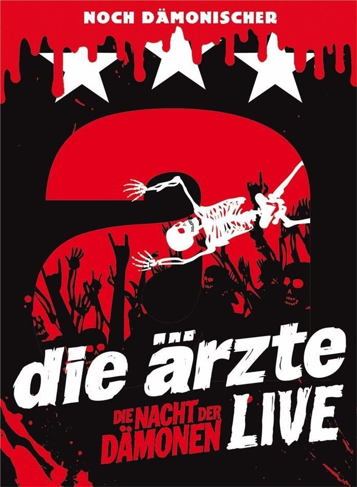 Die Ärzte - Live - Die Nacht Der Dämonen (Deluxe Edition, 2 DVDs)