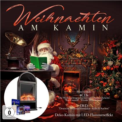 Ray Conniff & Andreas Muthesius - Weihnachten Am Kamin (5 CDs)