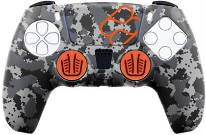 PS5 Silicone Skin + Grips + Touchpad Sticker - Camouflage