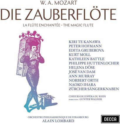Zürcher Sängerknaben, Wolfgang Amadeus Mozart (1756-1791), Alain Lombard, Dame Kiri Te Kanawa, Kathleen Battle, … - Die Zauberflöte (2 CDs)