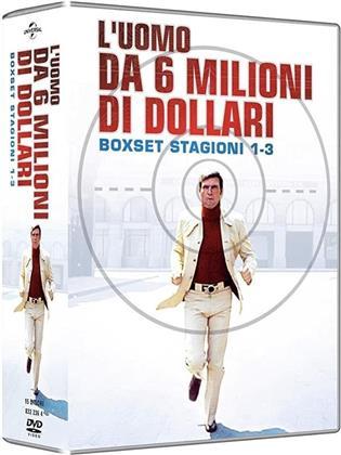 L'uomo da 6 milioni di dollari - La Serie Completa - Stagioni 1-3 (16 DVDs)