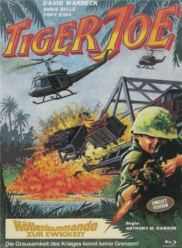Tiger Joe - Höllenkommando zur Ewigkeit (1982) (Eurocult Collection, Cover D, Limited Edition, Mediabook, Uncut, Blu-ray + DVD)