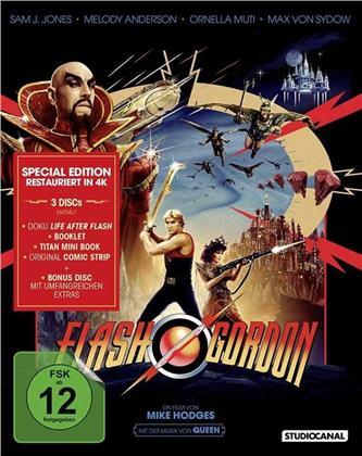 Flash Gordon (1980) (4K-restauriert, Special Edition, 3 Blu-rays)